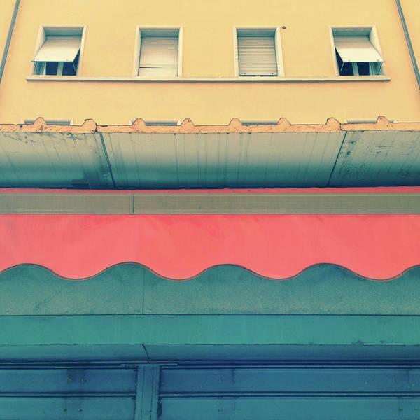 Unusual Perspective Wall Art - Photograph - Rolling Shutter, Tent, Windows - by Marco Rosario Venturini Autieri