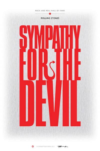 Digital Art - Rolling Stones - Sympathy For The Devil by David Davies