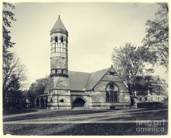 Photograph - Rollins Chapel Dartmouth College Hanover New Hampshire by Edward Fielding