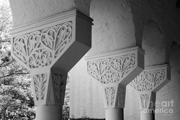 Photograph - Rollins College Arcade Detail by University Icons