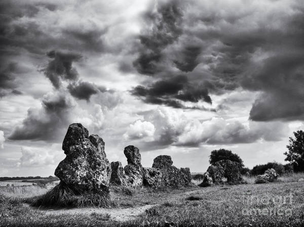 Belief Photograph - Rollright Stones by Tim Gainey