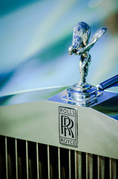 Photograph - Rolls-royce Hood Ornament -782c by Jill Reger
