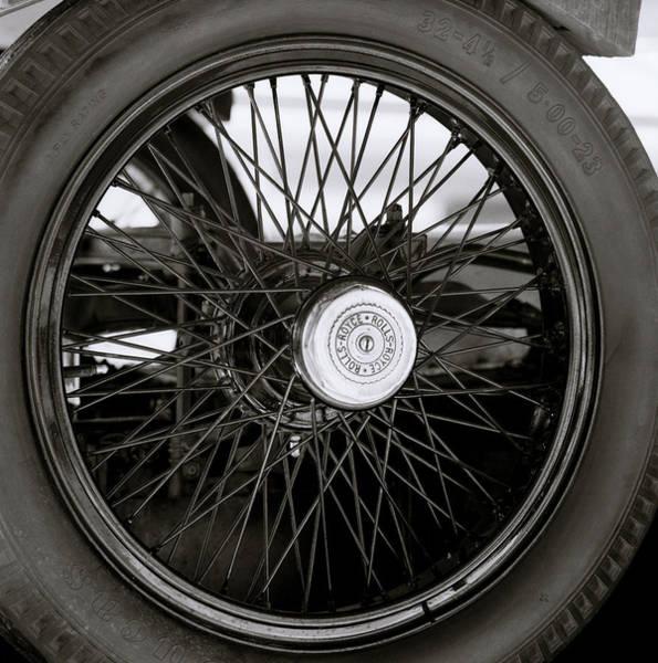 Photograph - Rolls Royce Wheel by Shaun Higson