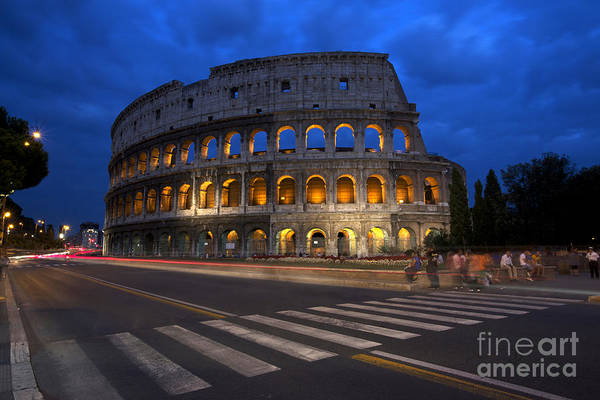 Wall Art - Photograph - Roma Di Notte - Rome By Night by Marco Crupi