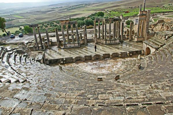 Berber Wall Art - Photograph - Roman Amphitheatre by Marco Ansaloni / Science Photo Library
