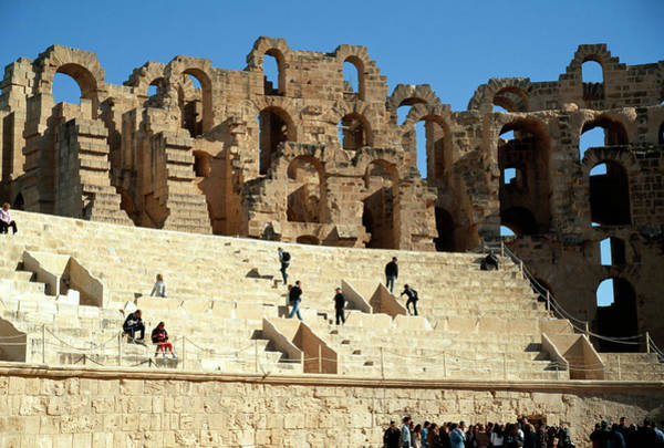 El Jem Photograph - Roman Amphitheatre by Sheila Terry/science Photo Library