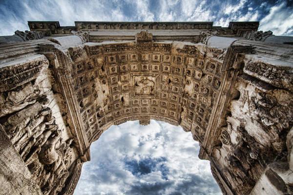 Photograph - Roman Arch by Ryan Wyckoff