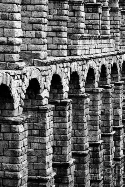 Photograph - Roman Arches by James Brunker