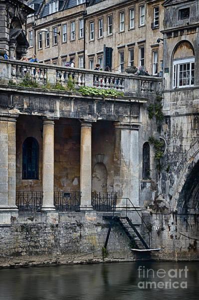 Bath Abbey Photograph - Roman Architecture by Svetlana Sewell