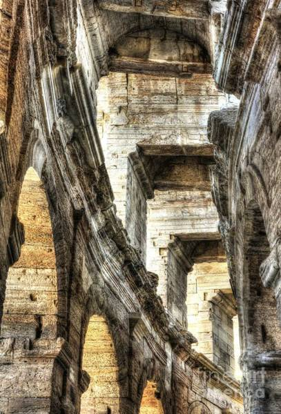 Photograph - Roman Arena At Arles 3 by Mel Steinhauer