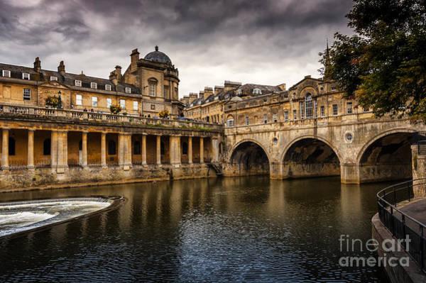 Bath Abbey Photograph - Roman Bath by Svetlana Sewell