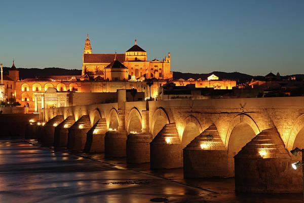 Roman Bridge Córdoba Art Print by David Bank