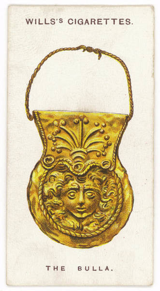 Paranormal Drawing - Roman Bulla Talisman Featuring by Mary Evans Picture Library
