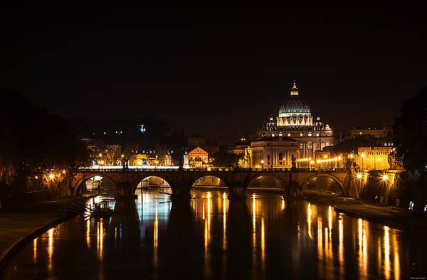 Photograph - Roman Evening by Ryan Wyckoff