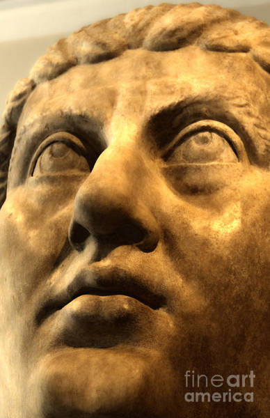 Photograph - Roman Face by Gregory Dyer