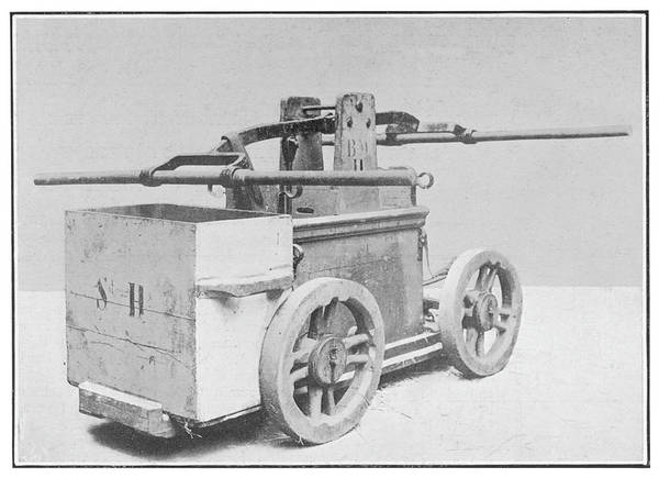 Pump Drawing - Roman Fire Engine, Consisting  Of Two by Mary Evans Picture Library