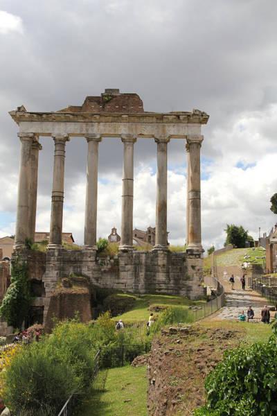 Photograph - Roman Forum by Nancy Ingersoll