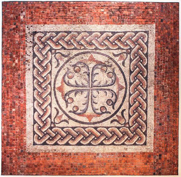 Photograph - Roman Mosaic by Ross Henton