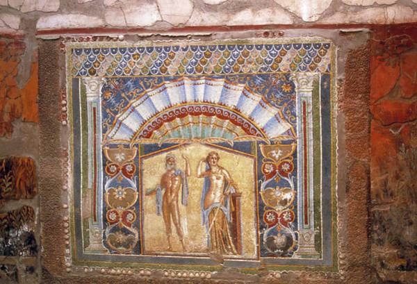Roman Wall Photograph - Roman Mosaic by Tony Craddock/science Photo Library