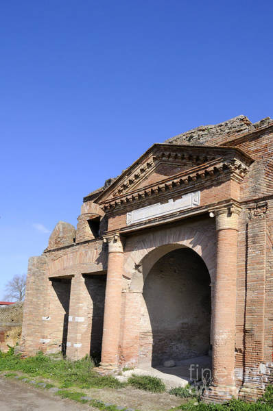 Photograph - Roman Port Of Ostia by Brenda Kean