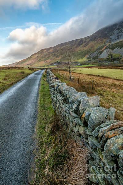 Roman Wall Photograph - Roman Road by Adrian Evans