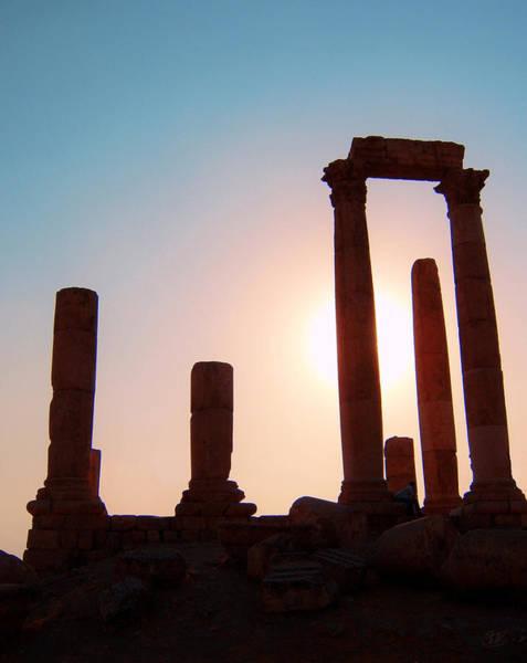 Jerash Photograph - Roman Ruins Of Jerash by Conor O'Brien