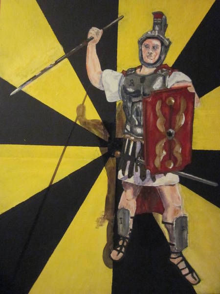 Ir Painting - Roman Tax Collector  Irs by Chris Cooper