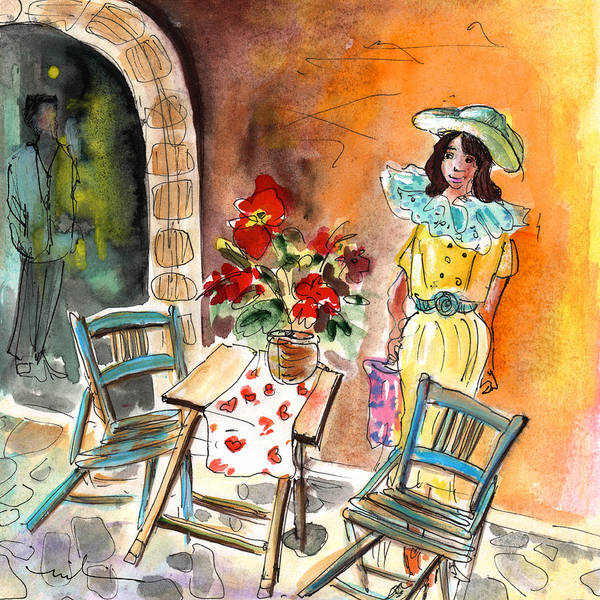 Painting - Romance In Siracusa by Miki De Goodaboom