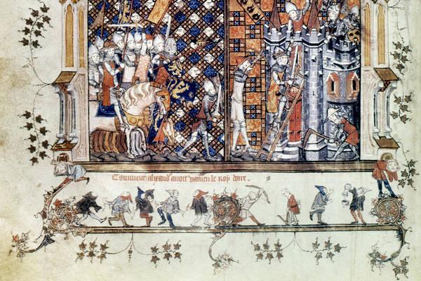 Wall Art - Drawing - Romance Of Alexander by Granger