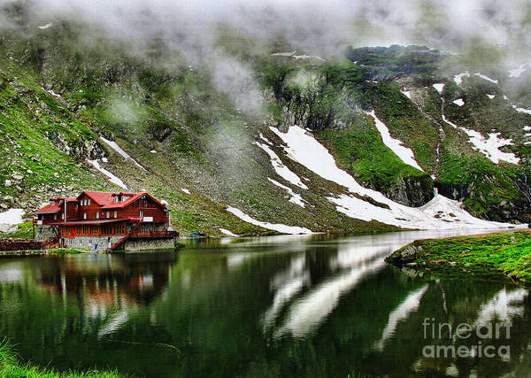 Photograph - Romanian Glacier Lake by Daliana Pacuraru