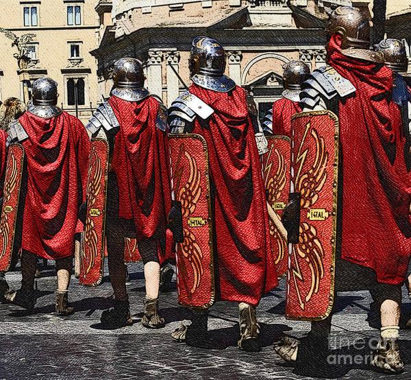 Roms Photograph - Romans by Stefano Senise