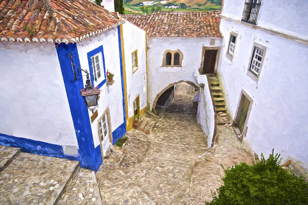 Painting - Romantic Obidos by David Letts