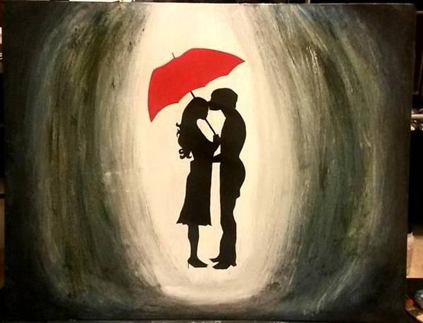 Summoning Painting - Romantic Rain by Summon Agha