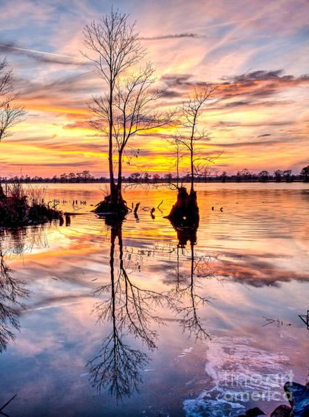 Photograph - Romantic River by Mike Covington