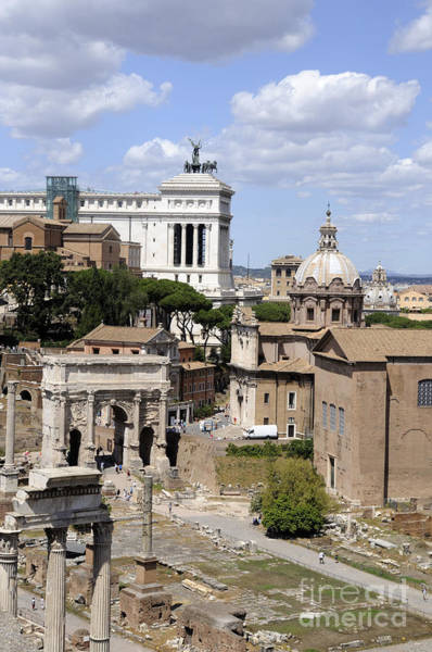 Photograph - Rome Ancient And Modern by Brenda Kean