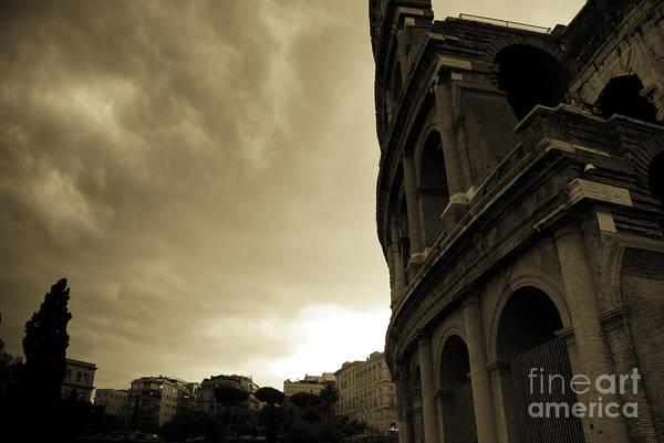 Photograph - Rome Colosseum by James Lavott