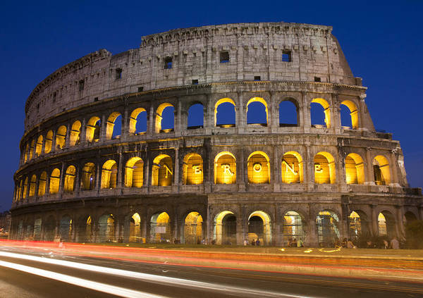 Photograph - Rome Colosseum by Nathan Rupert