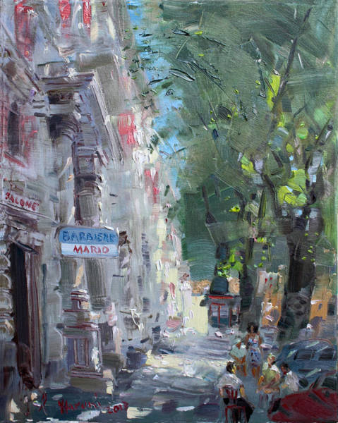Rome Painting - Rome Dal Barbiere Mario by Ylli Haruni