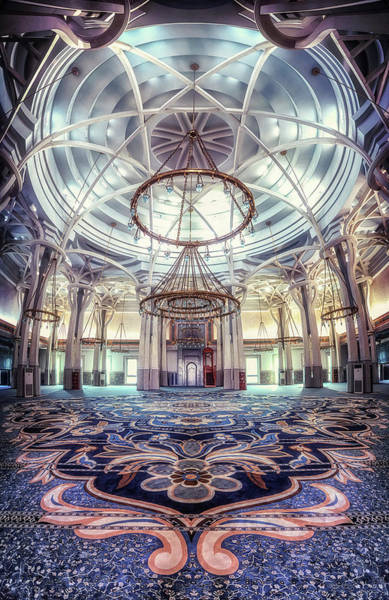Ceiling Photograph - Rome Great Mosque by Massimo Cuomo