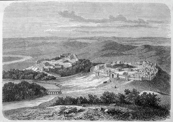 Reconstruction Drawing - Rome In Its Early Days, During The Time by Mary Evans Picture Library
