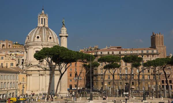 Photograph - Rome - Umbrella Pines And Sunshine  by Georgia Mizuleva