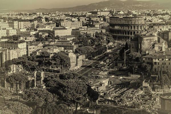 Photograph - Rome Vista by Joan Carroll