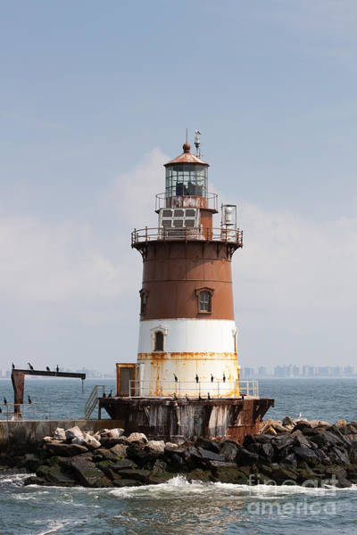 Photograph - Romer Shoal Light I by Clarence Holmes