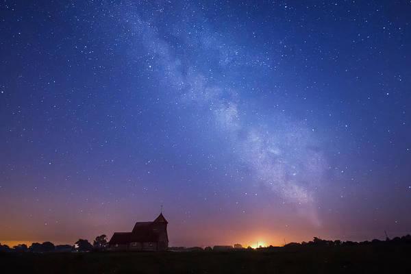 Fairfield Photograph - Romney Marsh At Night. by Ian Hufton