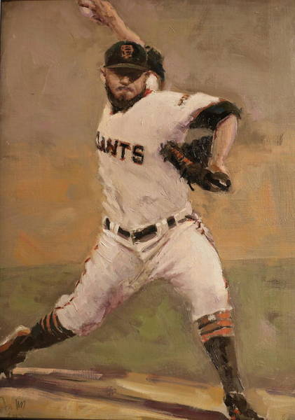 Romo Painting - Romo Nlcs Save by Darren Kerr
