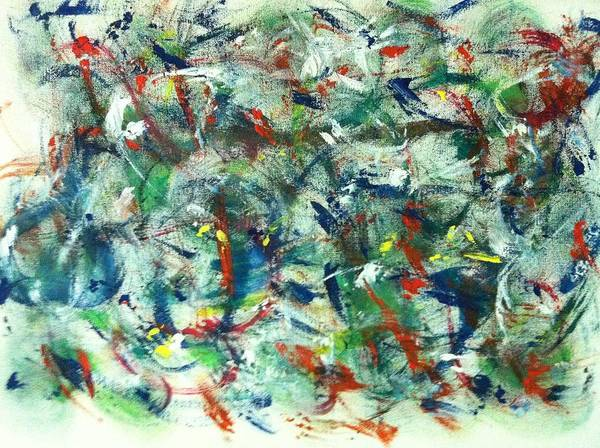 Painting - Romp by Marian Palucci-Lonzetta