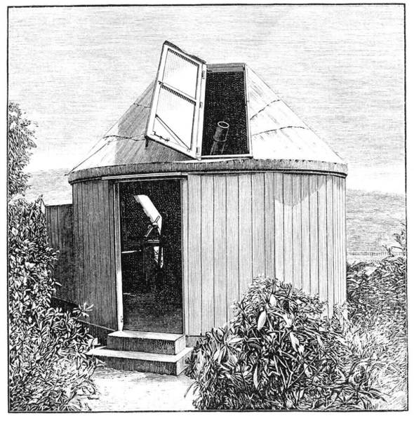 1863 Photograph - Romsey Observatory Design by Royal Astronomical Society/science Photo Library