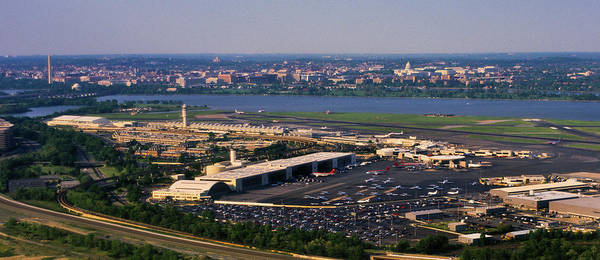 Arlington County Photograph - Ronald Reagan Washington National by Panoramic Images