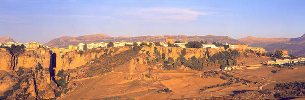 Chasm Photograph - Ronda Gorge, Andalucia, Spain by Panoramic Images
