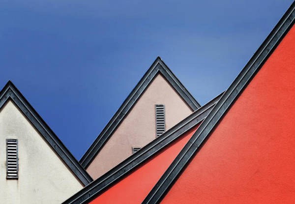Wall Art - Photograph - Roof Lines by Jeroen Van De
